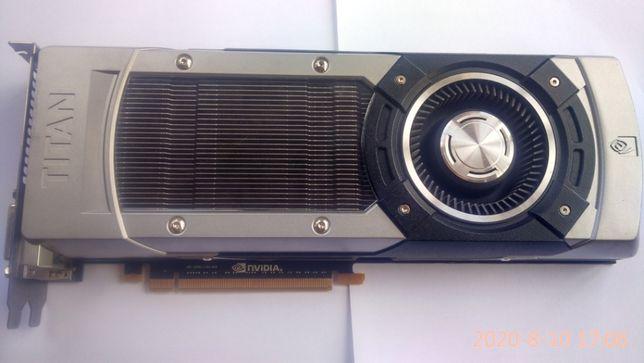 Nvidia GTX Titan 6Gb + HDD 500 GB(аналог 1070, 1080) в шикарном состоя