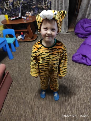 Костюм тигренок на 4 - 5 лет
