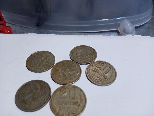 Монеты СССР 80-х