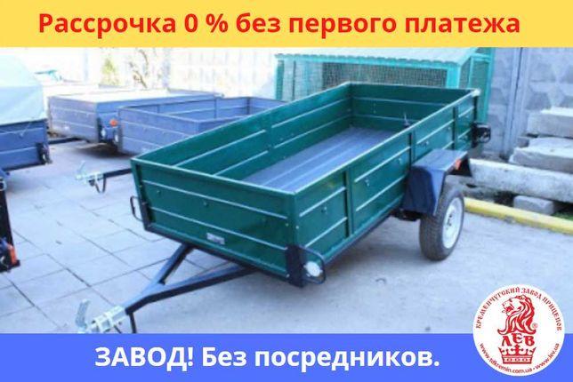 ДЛИННЫЙ ЛЕГКОВОЙ ПРИЦЕП 260*130 одноосный с завода с документами!