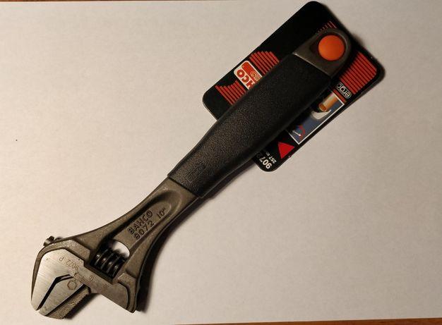 Profesjonalny klucz nastawny Bahco 9072P z odwracalną szczęką szwedzki