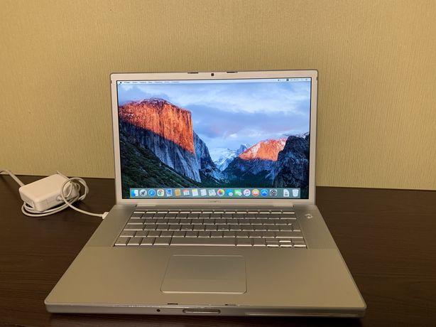 Macbook pro 2007