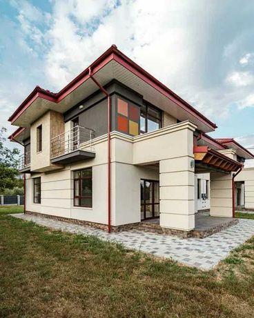 Елітний будинок в Крихівцях готовий до чистового ремонту+8 сотих землі