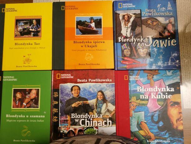 Książki podróżnicze Beaty Pawlikowskiej