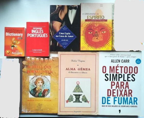 9 Livros - Vários