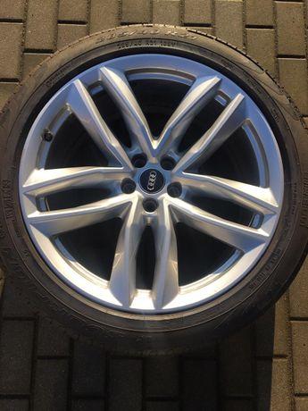 Orginalne felgi aluminiowe Audi SQ7 / Q7 285/40/R21 z oponami Pirelli