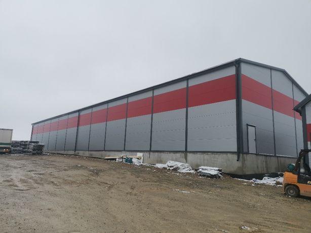magazyn, hala produkcyjna 16x60x6m GAJ-STAL