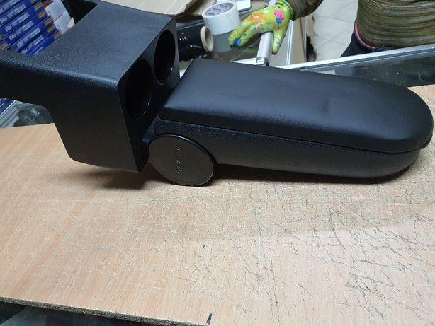 Подлокотник универсальный автомобильный CARUB Турция черный. Качество