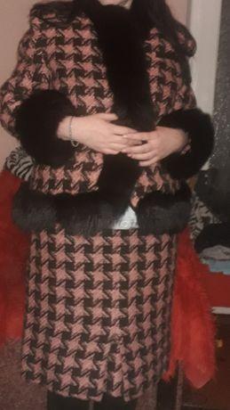СРОЧНО!!!Костюм   твидовый в стиле шанель пиджак юбка