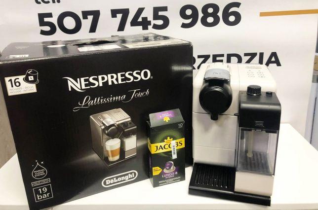Ekspress Nespresso De'Longhi Lattissima Touch EN 550.W 1400W komplet