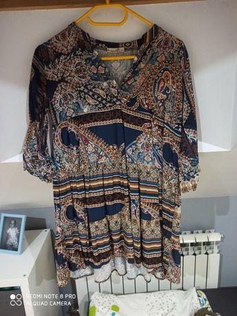 Sukienka tunika Boho M/L