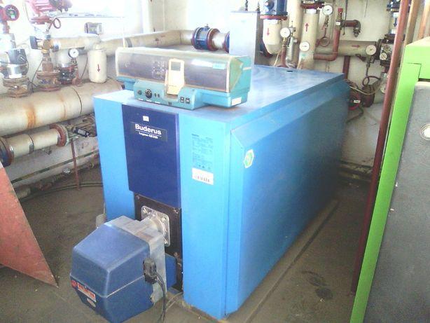 Buderus kocioł 250 KW z przystosowaniem na gaz