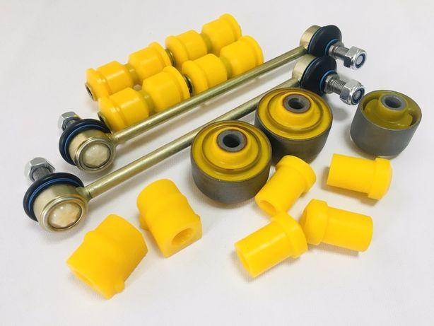 Полиуретановые втулки сайлентблоки стойки стабилизатора Opel Combo