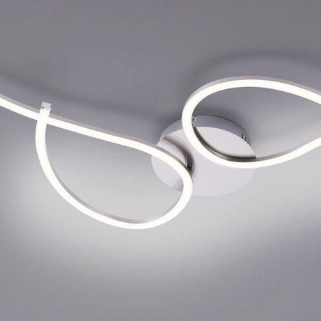 Nowość lampa sufitowa LED TYLER ściemniacz fale łuki wstążka ściemniac