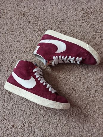 Кеды Nike высокие замш кроссовки кеди кросівки найк