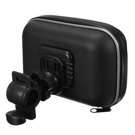 Suporte GPS/Telemóvel - prova água - bicicleta mota - Novo