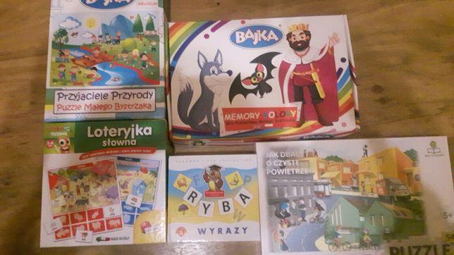 Gry i puzle dla dzieci