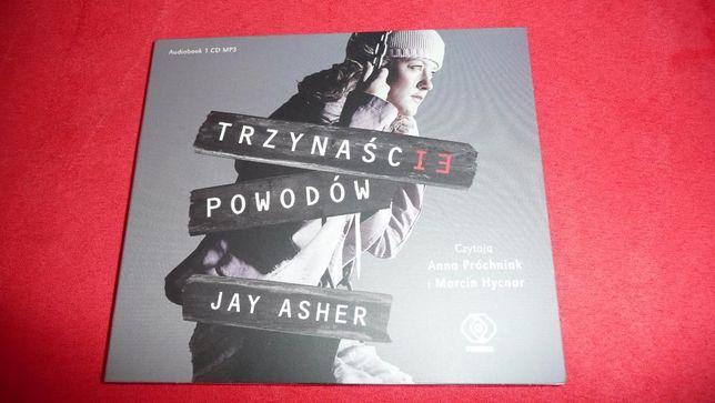 audiobook Trzynaście powodów Jay Asher