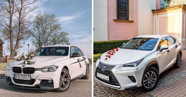 Auto do ślubu/wesele StyLOVE BMW 3 M-Performance / Lexus NX300H