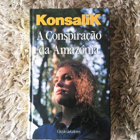 Livro - A Conspiração Da Amazónia - Konsalik, 1992 Círculo De Leitores