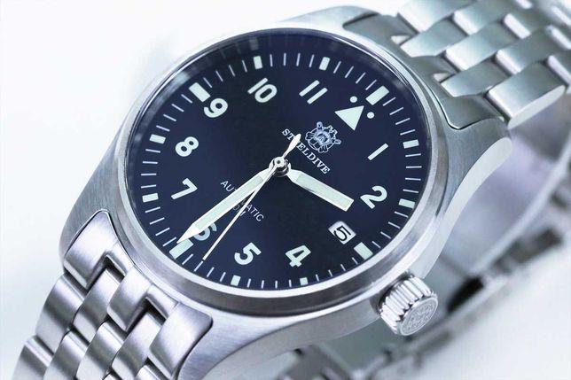 "Relógio Steeldive SD1940 ""Pilot Mark XVIII"" - Seiko NH35"