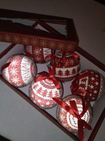 Bombki zestaw świąteczny