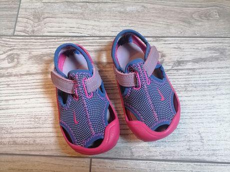 Sandałki nike sunray ok 12 cm