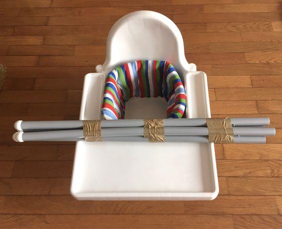 Cadeira de refeição do ikea