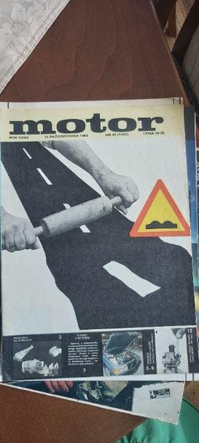 Motor egzemplarz kolekcjonerski 1983r.