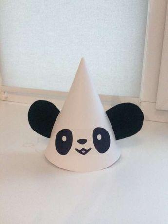 Колпак панда для праздника