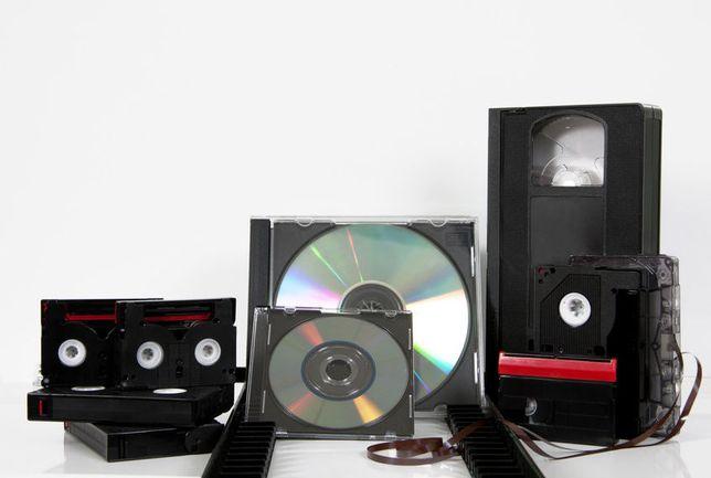Serviço Profissional de Digitalização de Cassetes de Vídeo PAL/NTSC