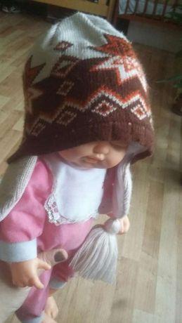 Ciepła czapka zimowa 3-4 latka nowa