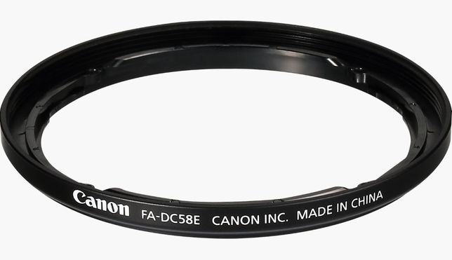 Adaptador Canon FA-DC58E ORIGINAL filtros Objetiva 58mm ENVIO GRATIS