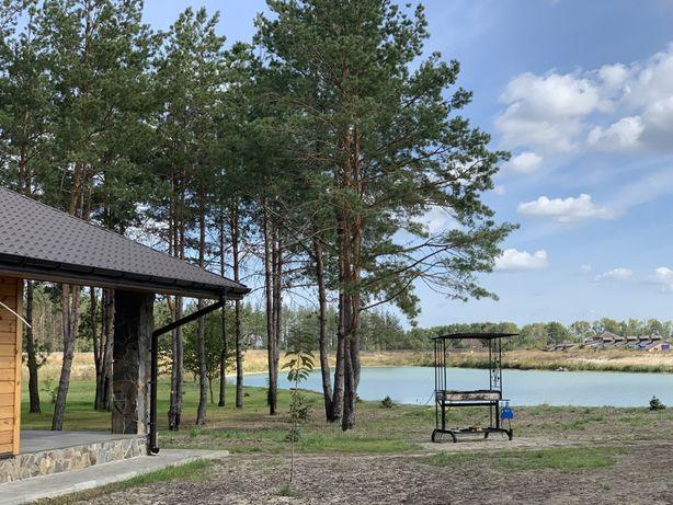 БАНЯ у озера, рыбалка, Киевская обл., Бородянка