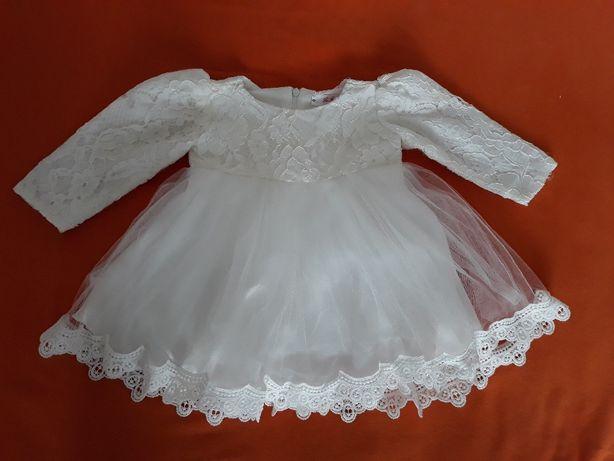 Sukienka do chrztu roz. 68-74