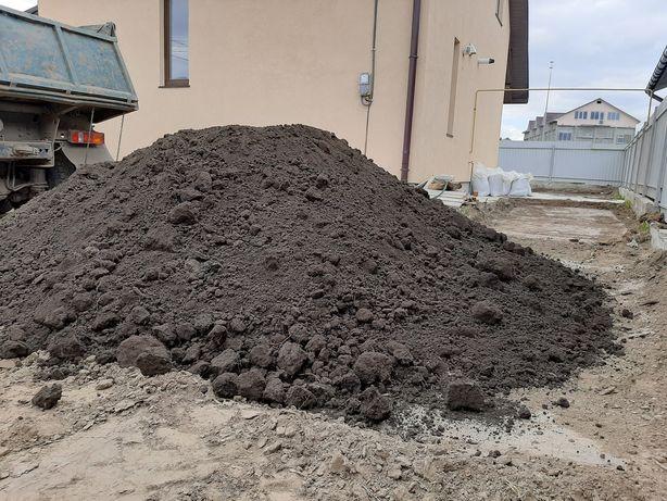 Чернозем,  чорнозем  глина бой кірпіча