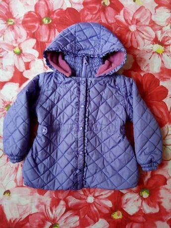 Деми курточку для девочки