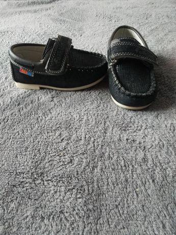 Туфлі-макасини на липучці для хлопчика