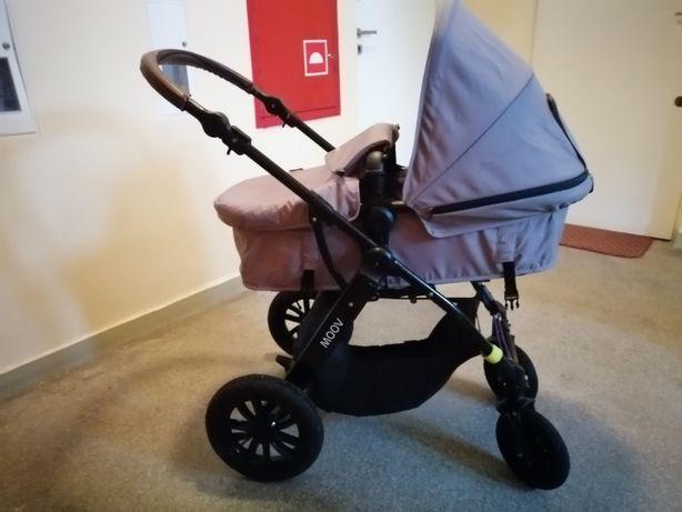 Wózek Kinderkraft Moov, 3w1, nie składa się stelaż