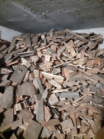 drewno na opał - suche i porąbane