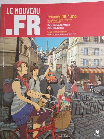 Livros Francês 10º Ano Le Nouveau .FR