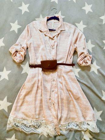 Śliczna sukienka do wielu stylizacji - roz. Uni (S-L) - jak nowa!
