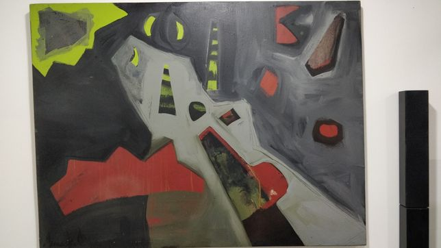 Quadro oleo sobre tela Armanda Oliveira