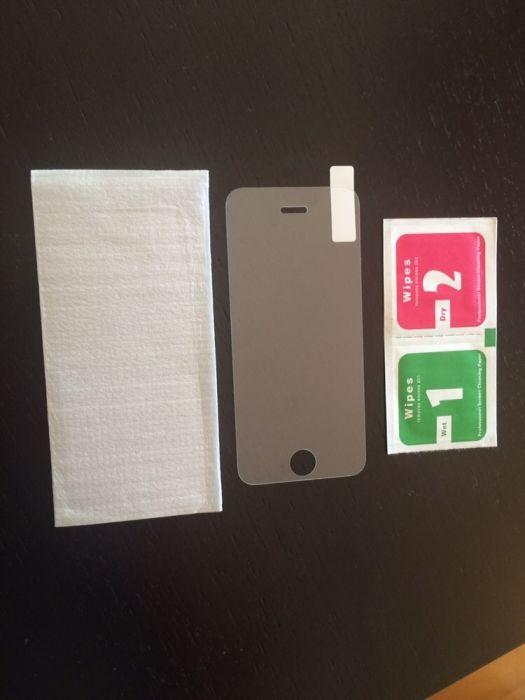 Pelicula vidro temperado iPhone 5/5s/SE/6/6s/7/8/SE 2020 Portes Grátis Lordelo Do Ouro E Massarelos - imagem 1