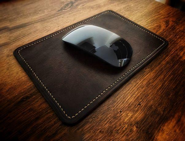 Podkładka pod mysz, skórzana podkładka pod myszkę Apple Logitech
