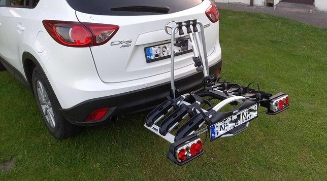 Wynajmę wypożyczę bagażnik platforma na rower hak THULE EuroWay G2 922