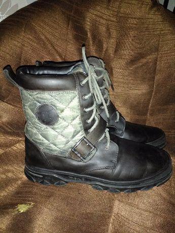 Берцы ботинки кроссовки кеды кожаные мужские 40 р 26 Polo Ralph Lauren