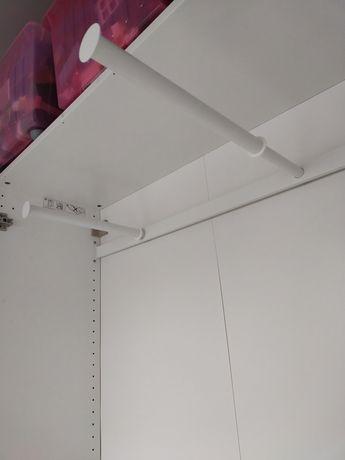 Drążek wysuwany, wieszak do szafy Ikea Pax 100x35