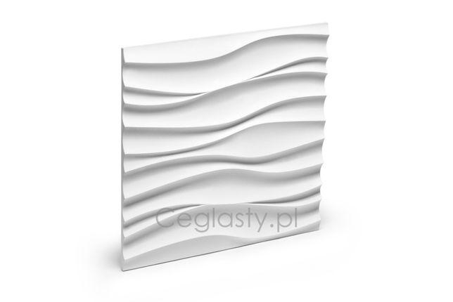 PANEL EWR dekoracyjny FALA 3d gipsowy kamień dekoracyjny