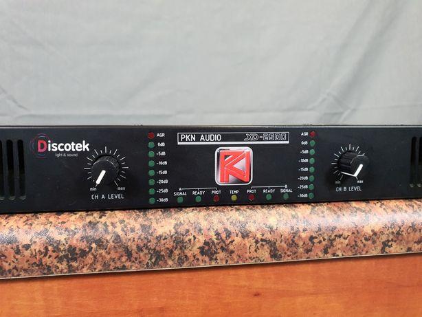 Końcówka mocy PKN Audio XD-2500 | 2x1,9 kW | (Powersoft, Lab Gruppen)